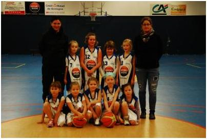 Mini poussines 2 (2013-2014)